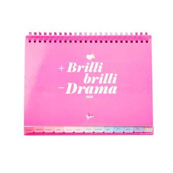 Calendario de mesa 2020 La Vecina Rubia - +Brilli, brillo - Drama