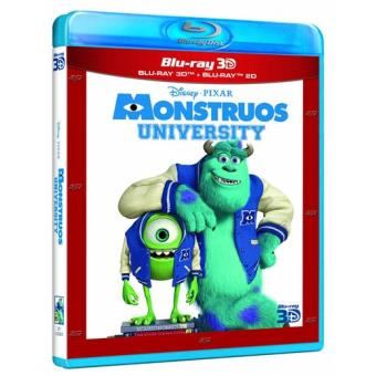 Monstruos University - Blu-Ray + 3D
