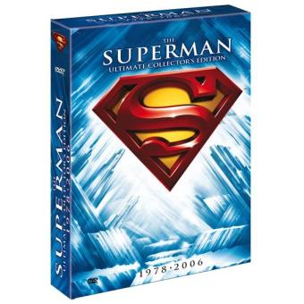 Pack Superman: The Ultimate Collector´s Edition Box Set - DVD