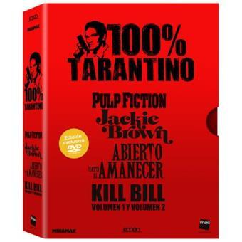 Pack 100% Tarantino - Exclusiva Fnac - DVD