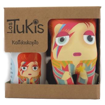 Tuki Pack David Bowie - Taza y Mini Cojín