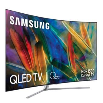 TV QLED Curvo 65'' Samsung QE65Q7C 4K UHD HDR Smart TV