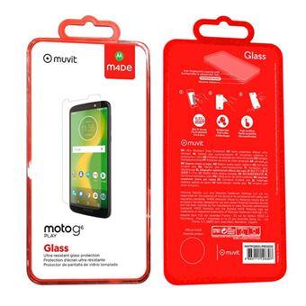 Protector de pantalla Made for Motorola Cristal templado para Moto G6 Play