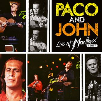 Paco And John Live At Montreux 1987 - Vinilo amarillo