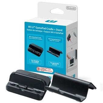 Base Recarga + Soporte Gamepad Wii U