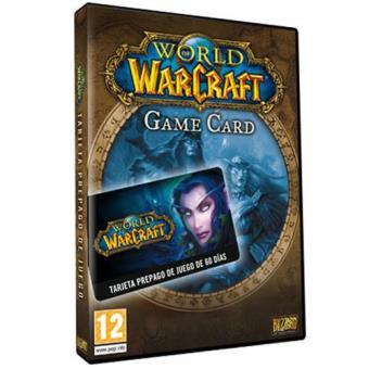 Tarjeta Prepago World of Warcraft