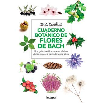 Cuaderno botanico de las flores de bach