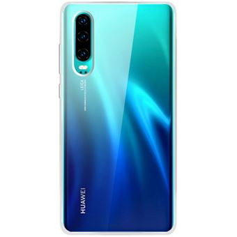 Funda de silicona Bigben Transparente para Huawei P30