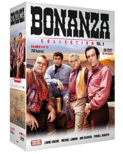Bonanza: Collection - Vol. 3 (Ed. Limitada) (Vol. 11 al 15)