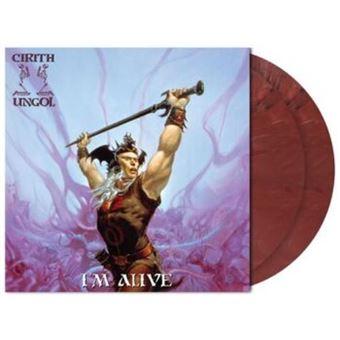 I´m Alive - 2 Vinilos  Rojo mármol
