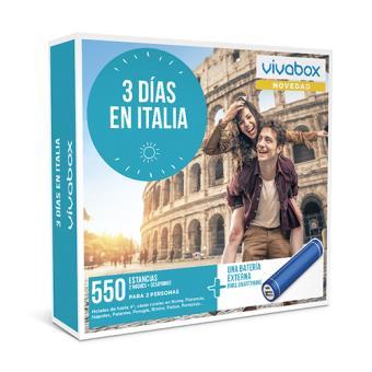 VivaBox 2018 - 3 días en Italia