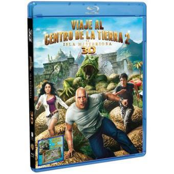 Viaje al centro de la Tierra 2: La isla misteriosa - Blu-Ray + 3D