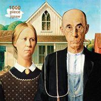 Puzzle Grant Wood: American Gothic: 1000 piezas