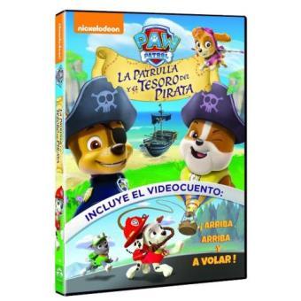 Patrulla Canina y el tesoro pirata - DVD