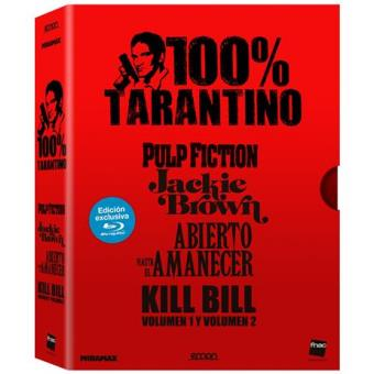 Pack 100% Tarantino - Blu-Ray - Exclusiva Fnac