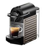 Cafetera Nespresso Krups Pixie Gris Titanio