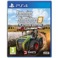Farming Simulator 19 - Platinum Edition - PS4