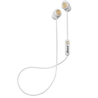 Auriculares Bluetooth Marshall Minor II Blanco