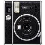 Cámara instantánea Fujifilm Instax Mini 40 Negro