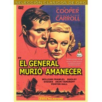 El general murió al amanecer - DVD