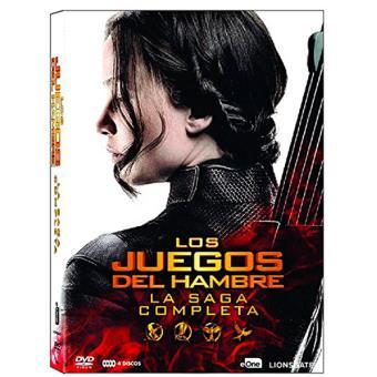 Pack Trilogía Los juegos del hambre - Saga completa - DVD