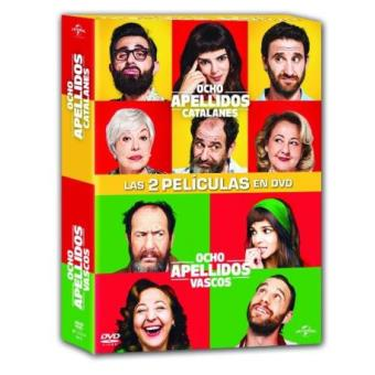 Pack Ocho apellidos catalanes + Ocho apellidos vascos - DVD
