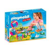 Playmobil Fairies Play Map Hadas de Jardín
