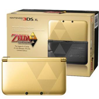 Nintendo 3DS XL Edición Limitada The Legend of Zelda: A Link Between Worlds (Incluye juego)