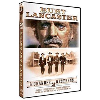 Pack Burt Lancaster - 6 grandes western - DVD