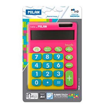 Blíster calculadora Milan multicolor