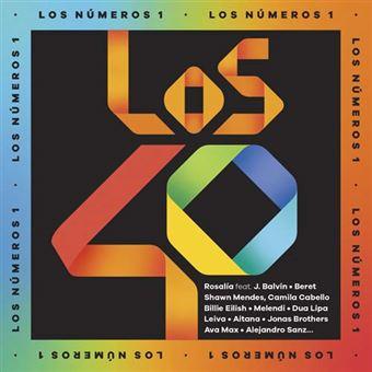Los nº1 de Los 40 2019 - 2 CDs + Agenda
