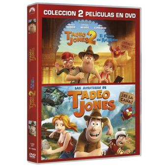 Pack Las aventuras de Tadeo Jones + Tadeo Jones y el screto del Rey Midas - DVD