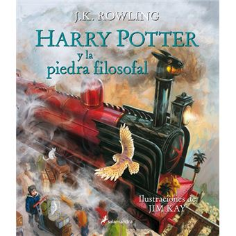 Harry PotterHarry Potter y la piedra filosofal. Ilustrado