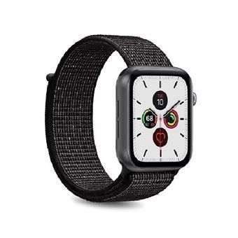 Correa Puro Icon Nylon Negro para Apple Watch 40 mm