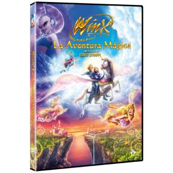 Winx Club: La aventura mágica - DVD