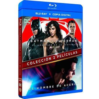 Pack El hombre de acero + Batman vs. Superman - Blu-Ray