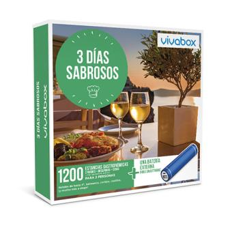 Caja Regalo VivaBox - 3 días sabrosos