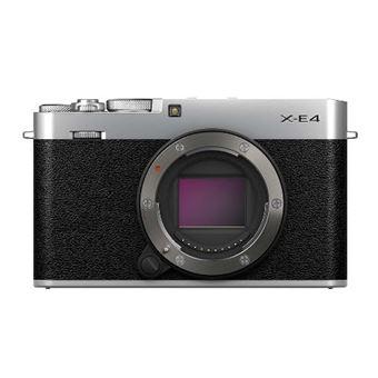 Cámara EVIL Fujifilm X-E4 Plata Body