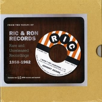 Ric And Ron Records Rare And Unreleas - Vinilo