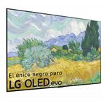 TV OLED 77'' LG OLED77G16LA 4K UHD HDR Smart TV Plata
