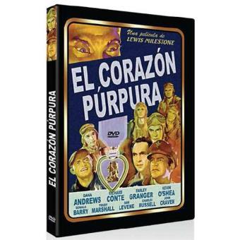 El corazón púrpura - DVD