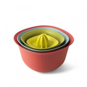 Cuenco, escurridor y exprimidor Brabantia Tasty Colours Kit
