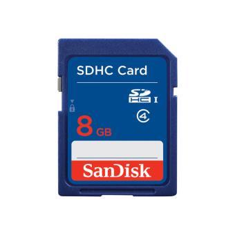 Sandisk SDHC 8 GB Tarjeta de Memoria