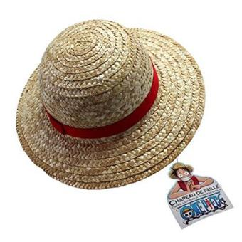 91887a5ffbfd1 Sombrero de paja One Piece Luffy Adulto. - Merchandising Cómic