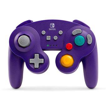 Mando Wireless GameCube Morado para Nintendo Switch