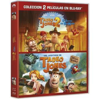 Pack Las aventuras de Tadeo Jones + Tadeo Jones y el secreto del Rey Midas - Blu-Ray