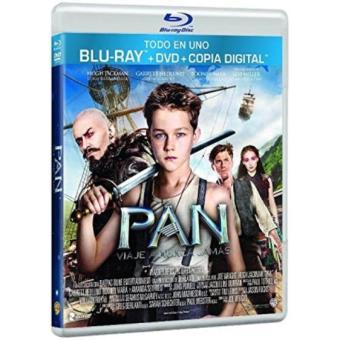 Pan - Viaje a Nunca Jamás - DVD + Blu-Ray