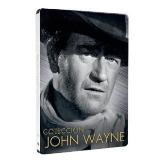 John Wayne: Río Bravo, Boinas Verdes, La conquista del Oeste, Ladrones De Trenes - Steelbook DVD