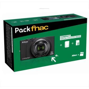 Nikon S8200 Negro Kit Cámara Compacta Digital