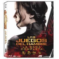 Pack Trilogía Los juegos del hambre - Saga completa - Blu-Ray